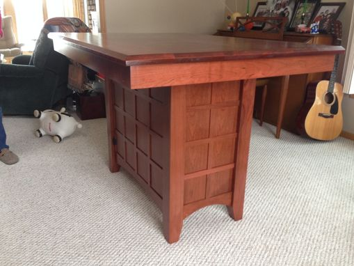 Custom Made Cherry Island/Dining Table