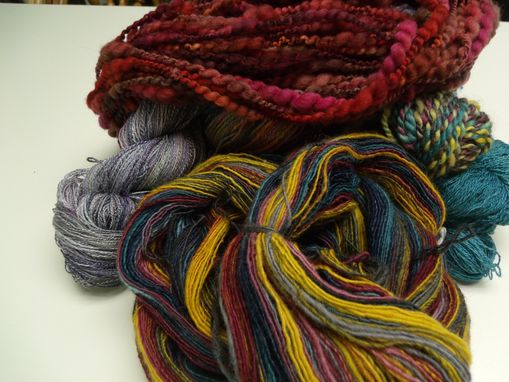 Custom Made Hand Spun Yarns