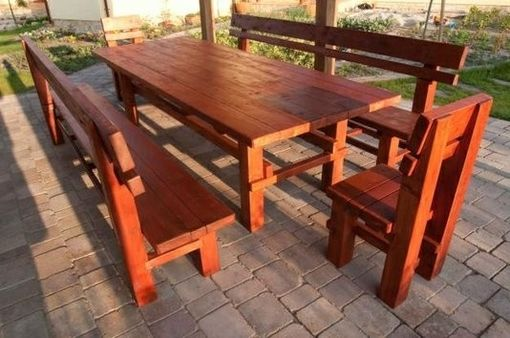Custom Made Long Patio Set