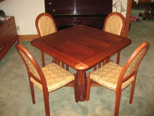 Custom Made Game Table & Chairs