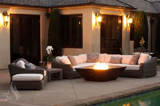 50 Inch Plaza Moreno Hand Hammered Copper Fire Pit