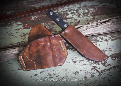 Custom Made Custom Knife Sheaths To Fit Your Knife