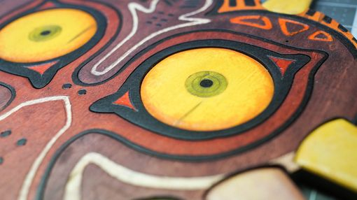 Custom Made Wooden Majora's Mask