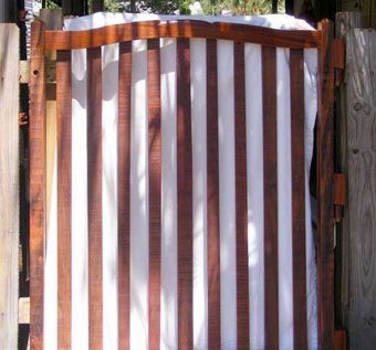 Custom Made Hardwood Garden Gate