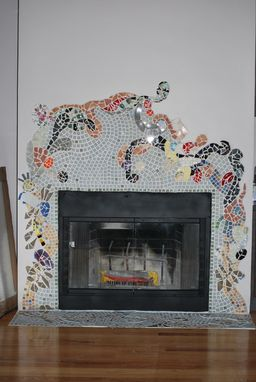 Custom Made Fireplace A La Gaudi