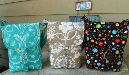 Custom Made Quilted Stroller Mini-Diaper Bag