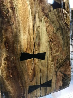 Custom Made Exotic Wood Bar Tops, Live Edge And Hand Crafted
