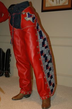 Custom Made Custom Made Red Bull Chaps