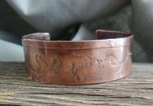 Custom Made Everyday Cuff Bracelet In Solid Copper