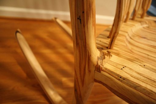 Custom Made Deja Vu Ambrosia Maple Rocking Chair