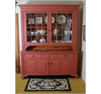 Custom Made 19th Century Restoration Farmhouse Hutch