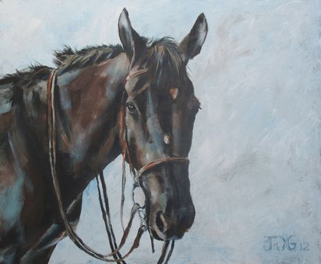 Custom Made Horse Portrait