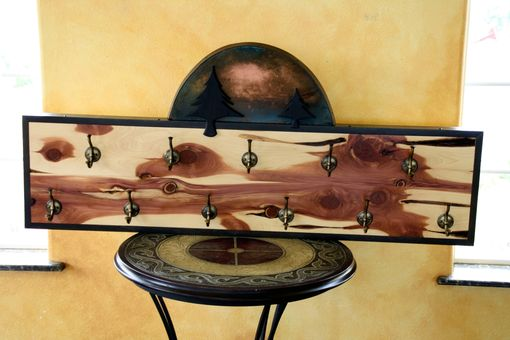 Custom Made Shadow Pines Sunset Coat Rack
