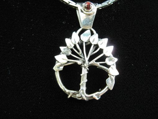 Custom Made Sterling Silver Tree Of Life