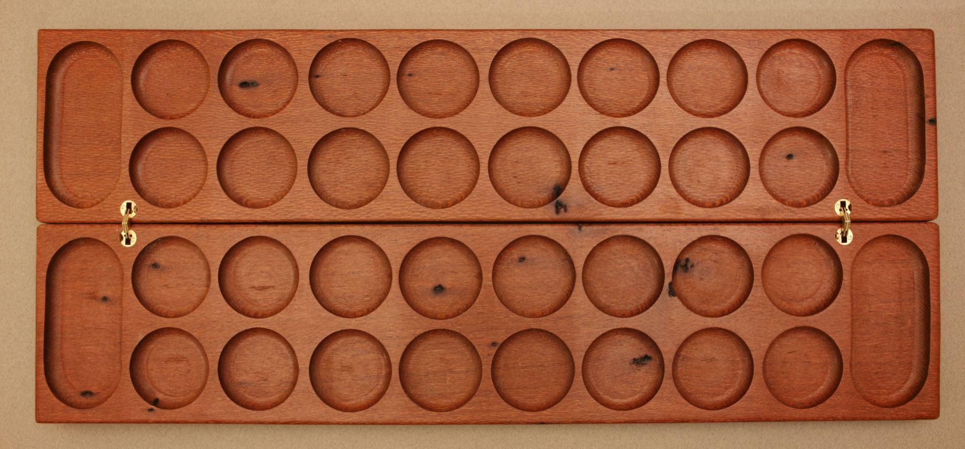 how to make a mancala game board