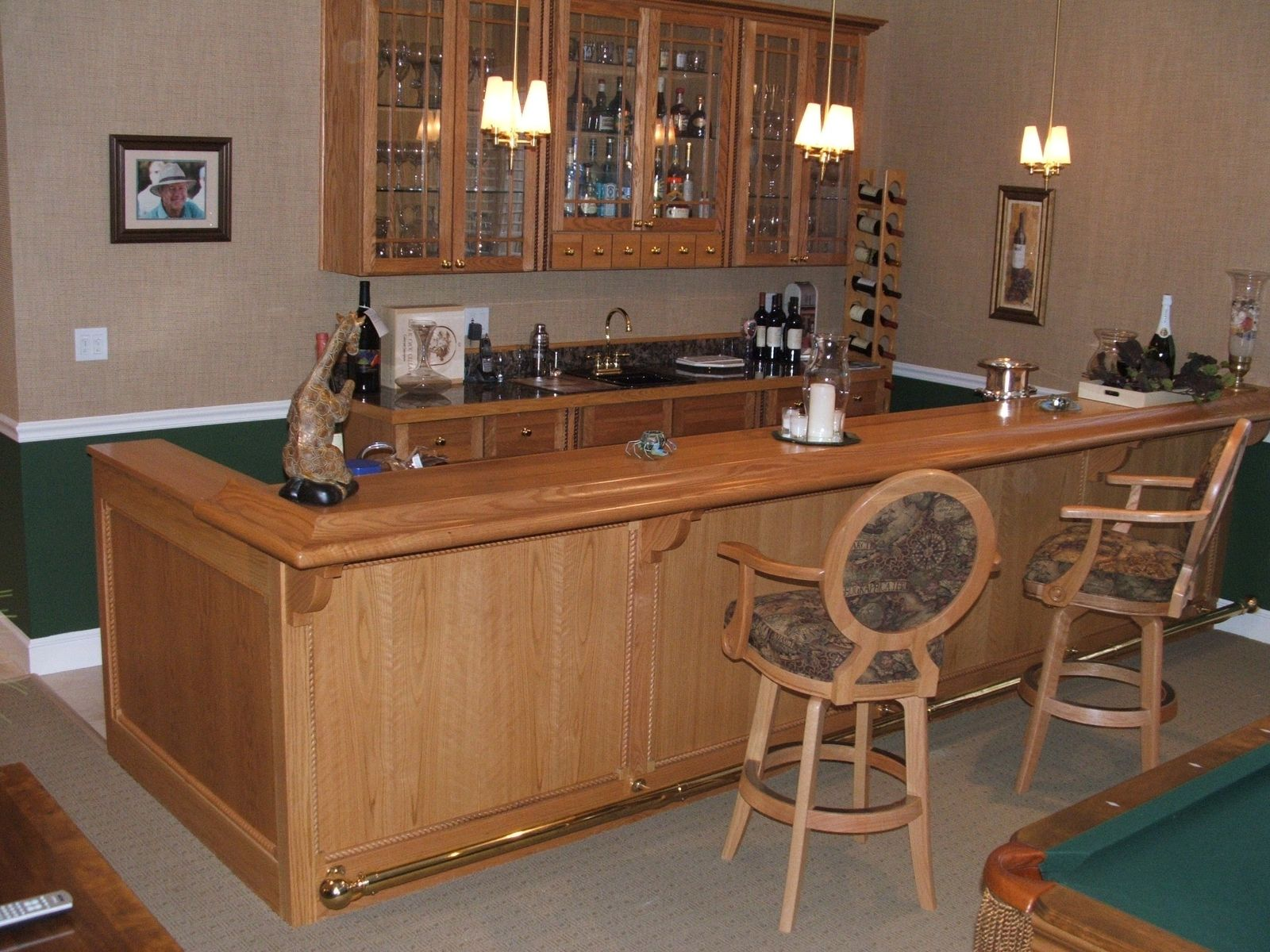 Handmade Hutchin\'s Bar by Stephen Cabitt Company | CustomMade.com