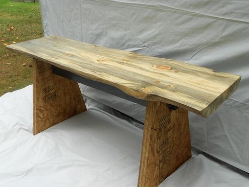 "Custom Made 3"" Thick Pine Table"