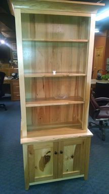 Custom Made Hidden Gun Cabinet Bookcase