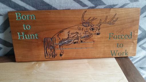 Custom Made Welcome Sign Plaque