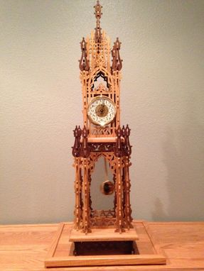 Custom Made Fretwork Clock