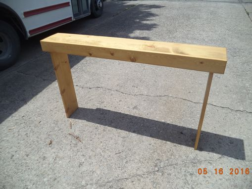 Custom Made 5' Sofa Table, Console Table
