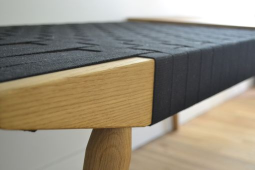 Custom Made Webbed Bench
