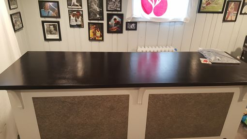 Custom Made Custom Painted Home Bar