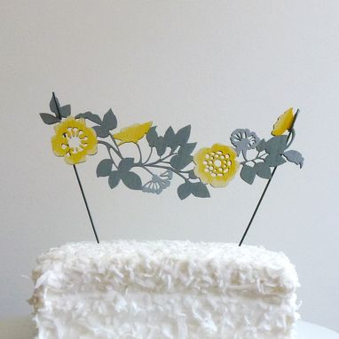 Custom Made Cake Toppers