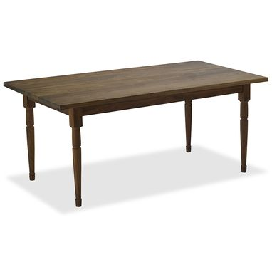 Custom Made Walnut Vermont Farm Table