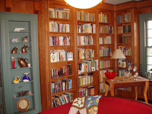 Custom Made Home Library Built-In