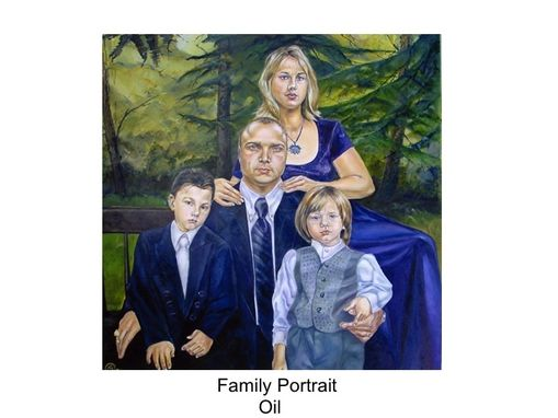 Custom Made Traditional Oil Portrait
