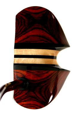 Custom Made Cocobolo With Three Ebony Aiming Lines; Wingtip