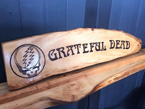 Custom Made Custom Live Edge Wood Signs