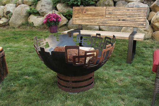 Custom Made Prevailing Links Fire Pit