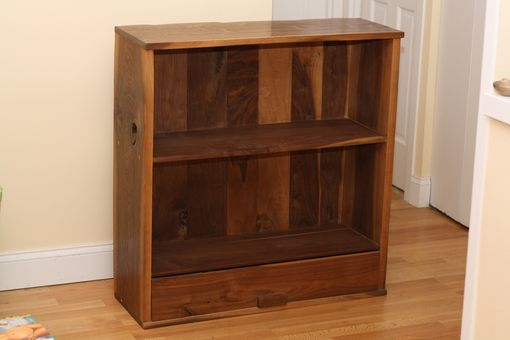 Custom Made Walnut Petite Bookcase