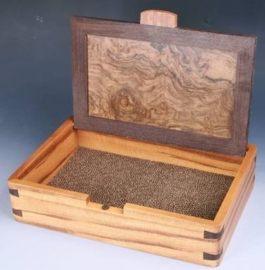 Custom Made Mens Valet Or Cufflink Box