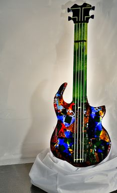 Custom Made Child's Play Glass Guitar
