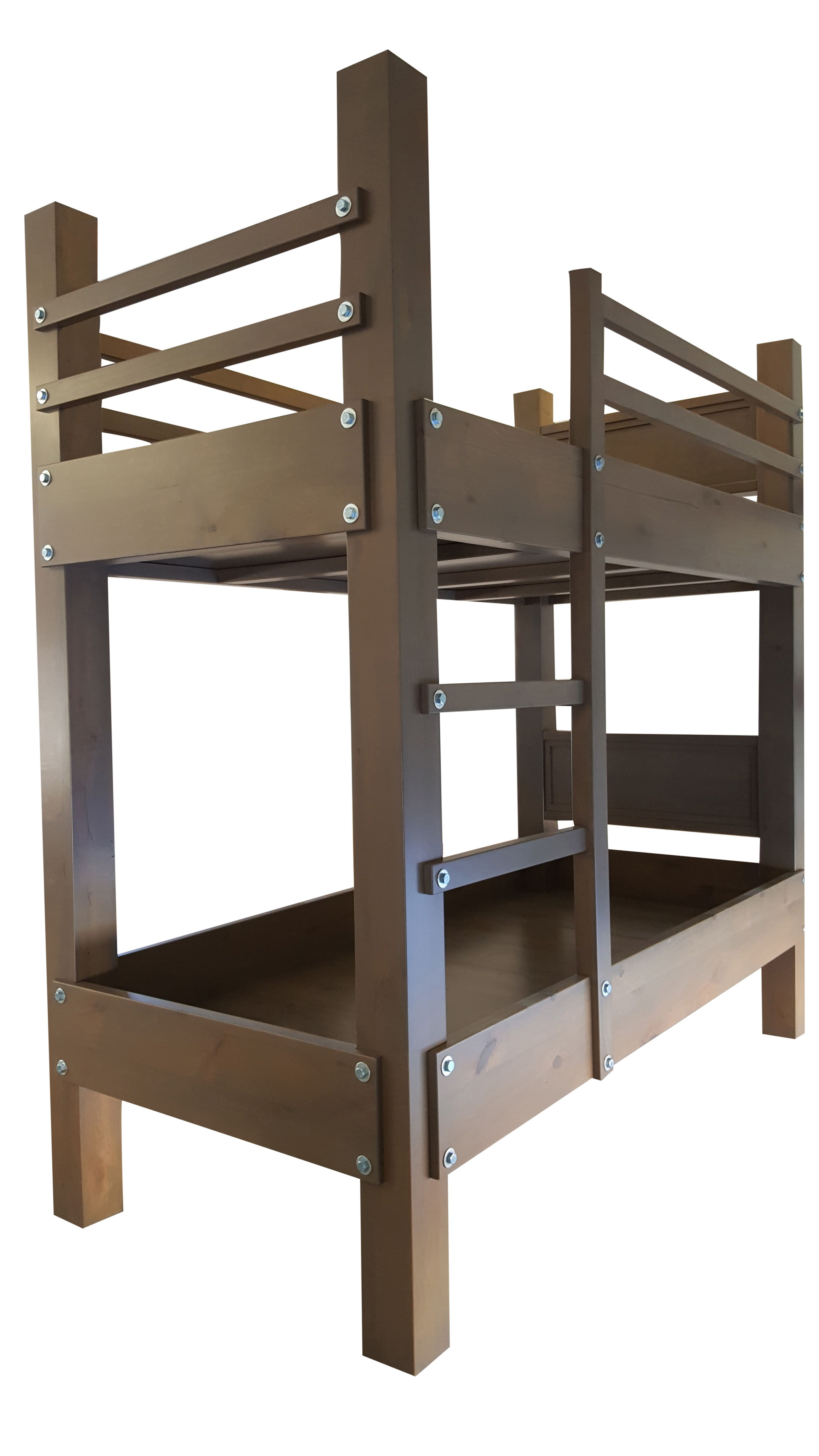 Buy Custom Made Twin Xl Over Twin Xl Bunk Beds Made To Order From