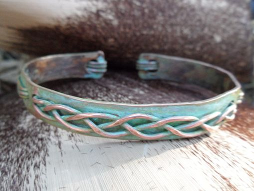 Custom Made Men's Copper Cuff