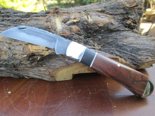 Custom Made Cocobolo Wharnclife Pocket Knife