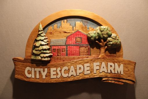 Custom Made Farm Signs | Custom Carved Wood Signs | Home Signs