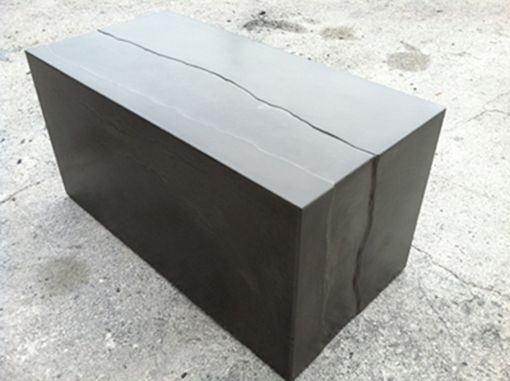 Custom Made The River Concrete Coffee Table