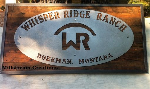 Custom Made Custom Metal And Wood Signs Reclaimed Woods Or New