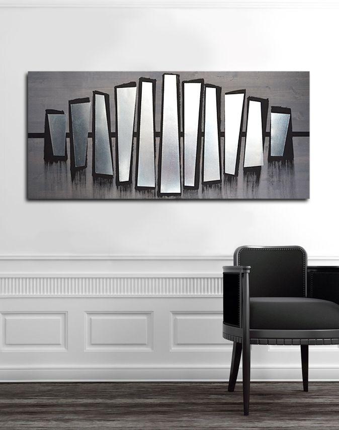 Buy a Custom Fierce Parallel 48x24 - Wood Wall Art, Metal Wall Art ...