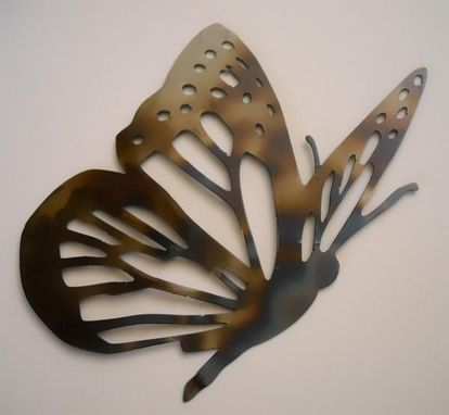 Custom Made Butterfly Metal Wall Art