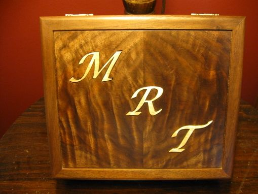 Custom Made Personalized Keepsake Box