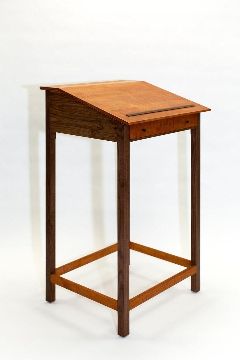 Handmade Stand Up Desk By Michael Codispoti Furnituremaker