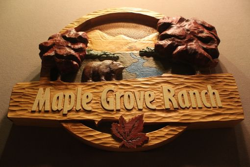 Custom Made Custom Cabin Signs | Carved Cottage Signs | Rustic Home Signs | Handmade Wooden Signs