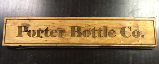 Custom Made Engraved Wood Signs