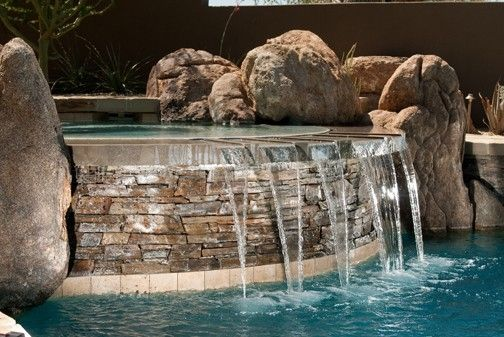 Custom Made Spa Spillway - Fountain/Waterfall/Water Feature